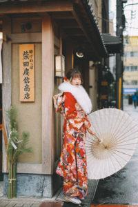 レギュラープランの着物の写真
